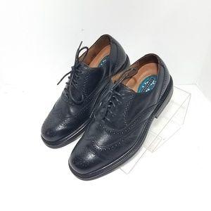 Florsheim Shoes - Florsheim ComfortTech Wingtip Oxford Black Sz